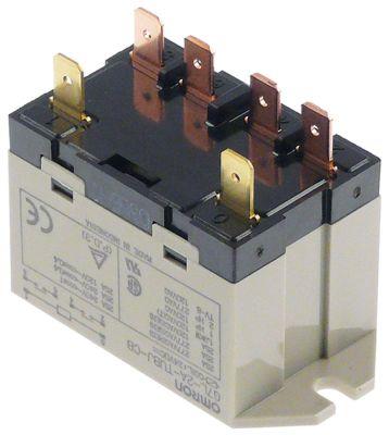ρελέ ισχύος OMRON  24VDC  25A 2NO  σύνδεσμος F6,3  στερέωση βραχίονα στα 250V 25A