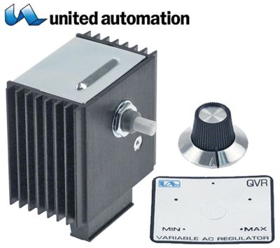 ζημενστάτης ρυθμιστής έντασης φωτισμού QVR 240V 15A κατεύθυνση περιστροφής δεξιά
