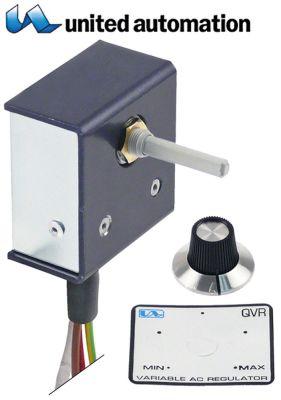ζημενστάτης ρυθμιστής έντασης φωτισμού QVR 240V 15A βηματικός διακόπτης