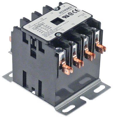 ρελέ ισχύος ωμικό φορτίο 50A 110/120VAC  40A/10 HP (AC3/240V) 40A/7,46 kW κύριες επαφές 4NO
