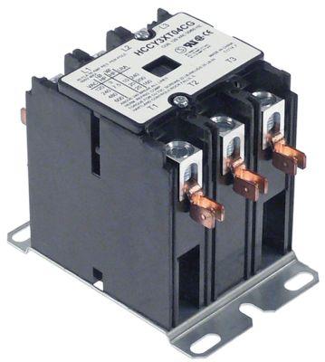 ρελέ ισχύος ωμικό φορτίο 50A 110/120VAC  40A/10 HP (AC3/240V) 40A/7,46 kW κύριες επαφές 3NO