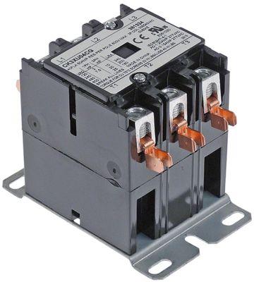 ρελέ ισχύος ωμικό φορτίο 50A 208/240VAC  40A/10 HP (AC3/240V) 40A/7,46 kW κύριες επαφές 3NO