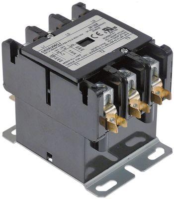 ρελέ ισχύος ωμικό φορτίο 65A 208/240VAC  50A/15 HP (AC3/240V) 50A/11,19 kW κύριες επαφές 3NO