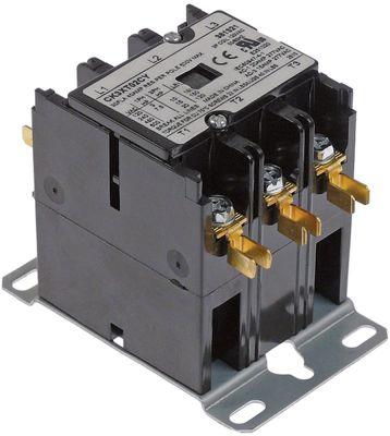 ρελέ ισχύος ωμικό φορτίο 40A 110/120VAC  30A/10 HP (AC3/240V) 30A/7,46 kW κύριες επαφές 3NO