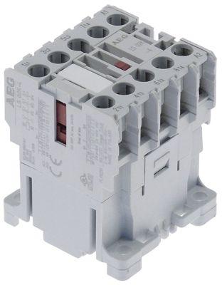 ρελέ ισχύος ωμικό φορτίο 20A 400VAC  (AC3/400V) 4A/2,2 kW κύριες επαφές 4NO