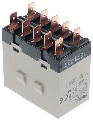 ρελέ ισχύος OMRON  200-240VAC  25A 4NO  σύνδεσμος F6,3  αρ. κατασκευαστή G7J-4A-T  277V