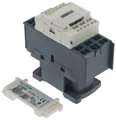 ρελέ ισχύος ωμικό φορτίο 25A 230VAC  (AC3/400V) 18A/7,5 kW κύριες επαφές 3NO