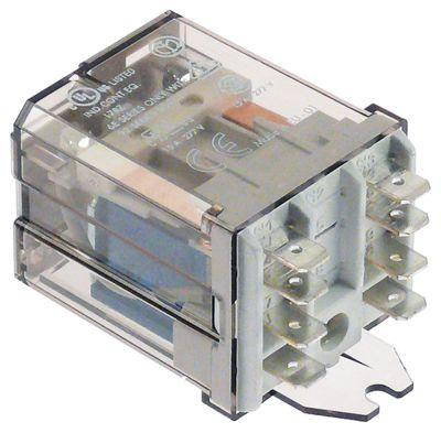 ρελέ ισχύος FINDER  24VDC  16A 2CO  σύνδεσμος F6,3  αρ. κατασκευαστή 62.82.9.024.0500
