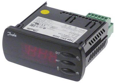 ηλεκτρονικός ελεγκτής DANFOSS  τύπος EKC202B  μετρήσεις στερέωσης 71x29 mm 230V τάση AC