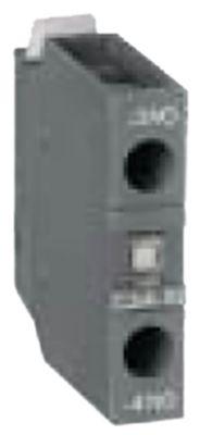 ρελέ επαφές 1NO  AC1 16A AC15 3A σύνδεσμος βιδωτή σύνδεση για επαφείς AF09-AF38