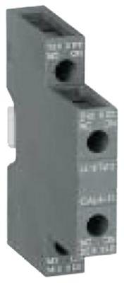 ρελέ επαφές 1NO/1NC  AC1 16A AC15 3A σύνδεσμος βιδωτή σύνδεση για επαφείς AF09-AF38