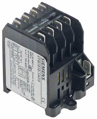 ρελέ ισχύος ωμικό φορτίο 16A 24VAC  (AC3/400V) 4kW κύριες επαφές 3NO  βοηθητικές επαφές 1NO