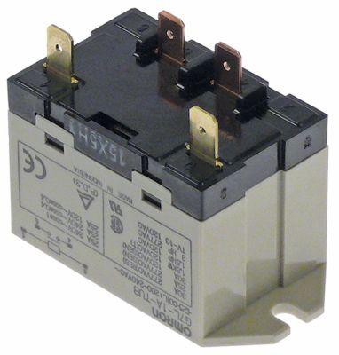 ρελέ ισχύος OMRON  230VAC  30A 1NO  σύνδεσμος F6,3  αρ. κατασκευαστή 15X5H1