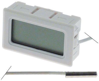 θερμόμετρο μετρήσεις στερέωσης 47x27 mm διαμ. μπαταρίας πίσω -50 έως +70°C
