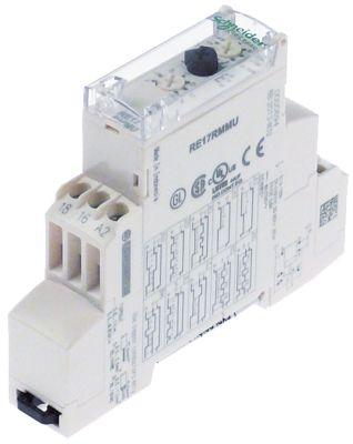 χρονικό SCHNEIDER ELECTRIC  RE17RMMU  χρονικό εύρος 0,1s-100h  24-240V AC/DC  8A