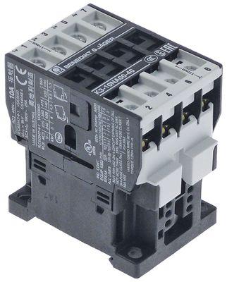 ρελέ ισχύος ωμικό φορτίο 25A 230 (AC3/400V) 4kW κύριες επαφές 4NO  σύνδεσμος βίδα