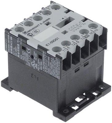 ρελέ ισχύος ωμικό φορτίο 20A 400VAC  (AC3/400V) 4kW κύριες επαφές 3NO