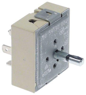 ζημενστάτης 120V 13A κατεύθυνση περιστροφής αριστερά ø άξονα 6.4mm