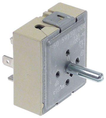 ζημενστάτης 120V 13A κατεύθυνση περιστροφής αριστερά ø άξονα 6,4x4,8 mm