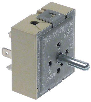 ζημενστάτης EGO  240V 13A μονού κυκλώματος κατεύθυνση περιστροφής αριστερά ø άξονα 6,4x4,8 mm