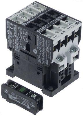 ρελέ ισχύος ωμικό φορτίο 32A 230VAC  (AC3/400V) 17A/7,5 kW κύριες επαφές 3NO