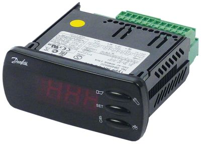 ηλεκτρονικός ελεγκτής DANFOSS  τύπος μετρήσεις στερέωσης 71x29 mm 230V τάση AC