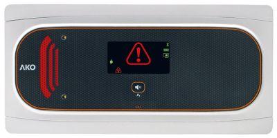 συσκευή συναγερμού AKO  τύπος 100-240 V τάση AC  έξοδοι ρελέ 2 DI/DI  ναι