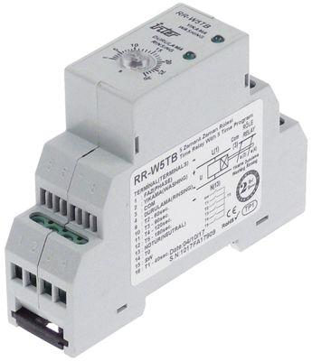 χρονικό INTER  RR-W5TB χρονικό εύρος 0,1-3min  220VAC  5A σύνδεσμος σύνδεση λαβής