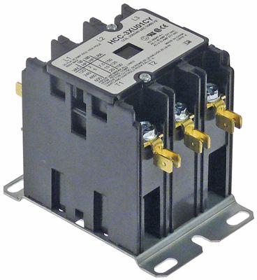ρελέ ισχύος ωμικό φορτίο 35A 208/240VAC  25A/7,5HP (AC3/240V) 25A/5,6kW κύριες επαφές 3NO