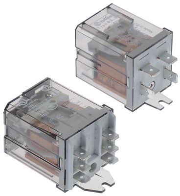 ρελέ FINDER  230VAC  16/30A 2NO/1NO  σύνδεσμος αρσενικό εξάρτημα 6,3mm