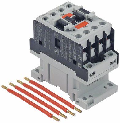 ρελέ ισχύος ωμικό φορτίο 25A 230VAC  (AC3/400V) 9A/4,2 kW κύριες επαφές 4NO