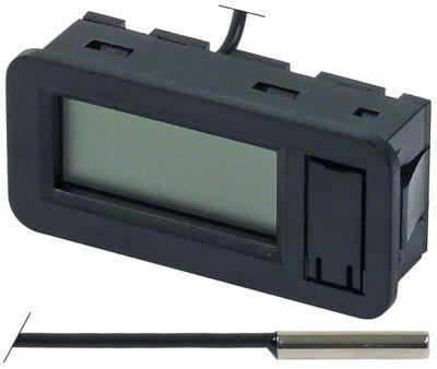 θερμόμετρο μετρήσεις πρόσοψης 62x29 mm -50 έως +70°C αισθητήριο ø4x20mm