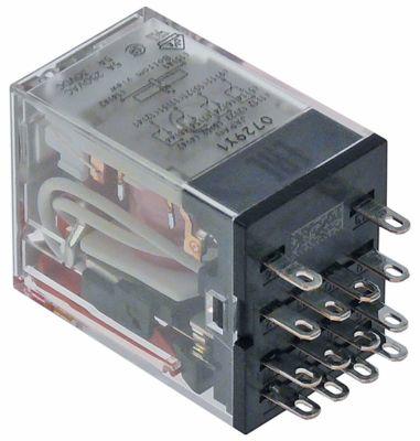 ρελέ ισχύος OMRON  24VAC  5A 4CO  σύνδεση plug-in στα 250V 5A αρ. κατασκευαστή MY4IN (S)