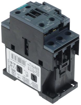 power contactor resistive load 40A (AC3/400V) 9A/4kW main contacts 3NO