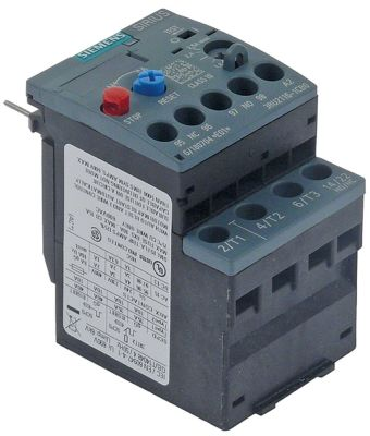 overload switch setting range 1.8-2.5A SIEMENS