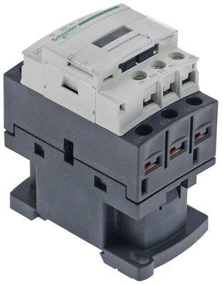 power contactor resistive load 25A 24VAC (AC3/400V) 5,5kW main contacts 3NO