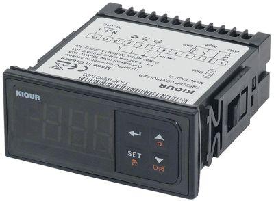 ηλεκτρονικός ελεγκτής 230V μετρήσεις στερέωσης 71x29 mm PTC/NTC