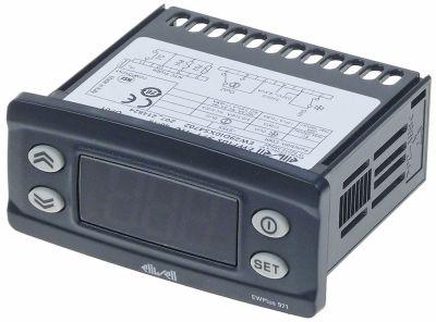 ηλεκτρονικός ελεγκτής ELIWELL  τύπος μετρήσεις στερέωσης 71x29 mm 230V τάση AC  NTC