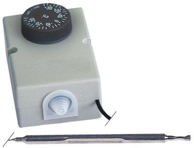 θερμοστάτης εύρος θερμοκρασίας -35 έως +35°C αισθητήριο ø6x110mm  σωλήνας τριχοειδής 1500mm  -