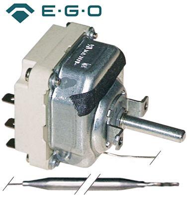 θερμοστάτης EGO  σειρά 55.34_ Μέγ. Θ 200°C εύρος θερμοκρασίας 60-200 °C 3-πόλοι 3NO  16A