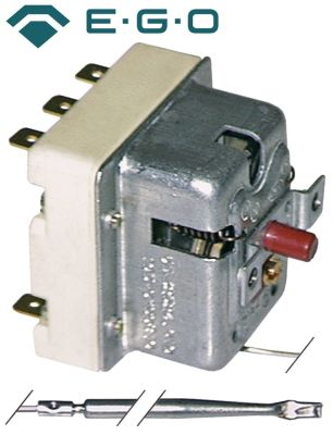 θερμοστάτης ασφαλείας EGO  σειρά θερμ. απενεργοποίησης 240°C 3-πόλοι 3NC  20A