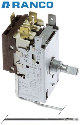 θερμοστάτης Ranco  τύπος K61-L1501 ø αισθητηρίου  -mm Μ αισθητηρίου  -mm