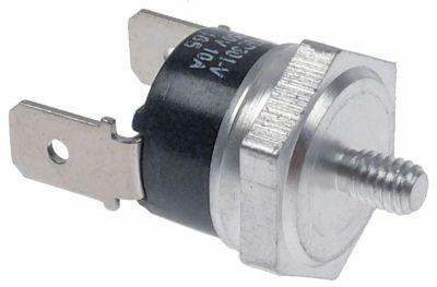 θερμοστάτης επαφής απόσταση οπήςmm θερμ. απενεργοποίησης 165°C 1NC  1-πόλοι 10A 250V