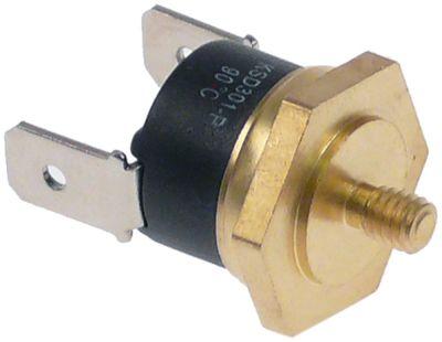 θερμοστάτης επαφής απόσταση οπήςmm θερμ. απενεργοποίησης 90°C 1NC  1-πόλοι 16A