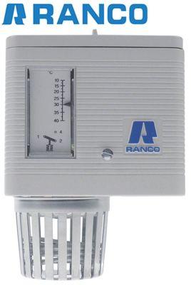 θερμοστάτης χώρου Ranco  εύρος θερμοκρασίας +10 έως +40°C