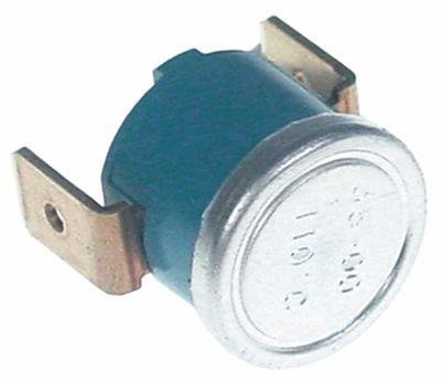 θερμοστάτης επαφής απόσταση οπής  -mm θερμ. απενεργοποίησης 110°C 1NC  1-πόλοι 16A