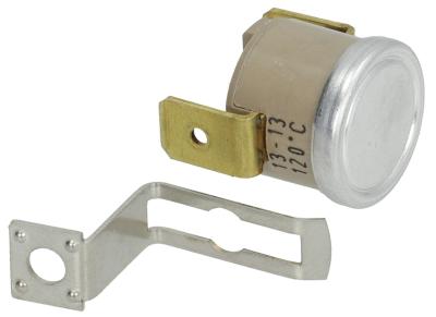 θερμοστάτης επαφής απόσταση οπήςmm θερμ. απενεργοποίησης 120°C 1NC  1-πόλοι 16A