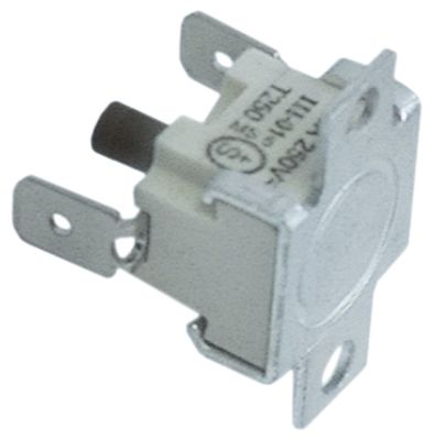 θερμοστάτες ασφαλείας επαφής απόσταση οπής 24mm θερμ. απενεργοποίησης 130°C 1NC  1-πόλοι 16A