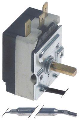 θερμοστάτης εύρος θερμοκρασίας 0 έως +40°C αισθητήριο ø6x110mm  σωλήνας τριχοειδής 1500mm