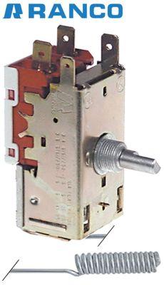 θερμοστάτης Ranco  τύπος K50H2005  ø αισθητηρίου 10mm Μ αισθητηρίου 48mm